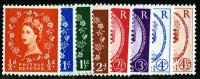 SG 587 - 594 Set of 8  1958 graphites