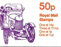 SG: FB15b 50p Bullnose Morris with 11½p left band