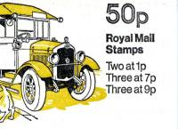 SG: FB5a  50p Mail Van with 7p right band