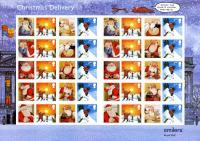 SG: LS21  2004 Father Christmas 2nd & 1st class