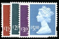 Set of 4 SG Y1746 - Y1749  VFU
