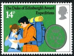 1981 Duke Edinburgh 14p