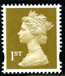 SG 1668 1st gold 2 band (Q)  VFU