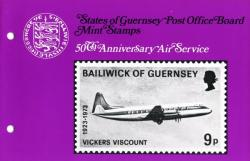1973 50th Anniversary of Air Service pack