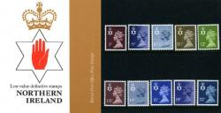 1981 Northern Ireland Regional Pack No 129d