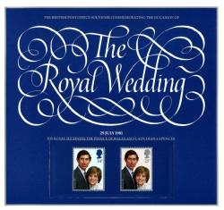 1981 Royal Wedding Souvenir Book