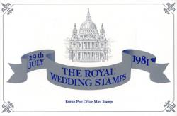 1981 Royal Wedding ( Cadbury)