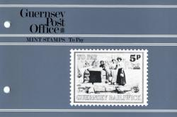 1982 Guernsey Scenes Postage Due pack