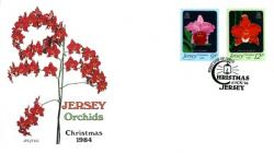 1984 Christmas Jersey Orchids