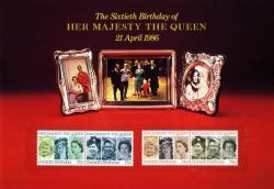 1986 Queen's 60th Birthday Souvenir Book