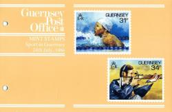 1986 Sport in Guernsey pack