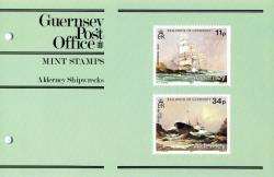 1987 Alderney Shipwrecks pack