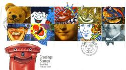 1990 Greeting Stamps