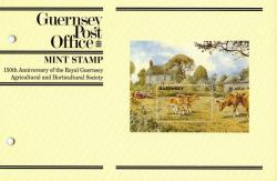 1992 Agricultural Anniversary miniature sheet pack
