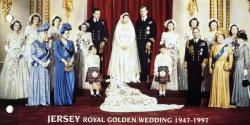 1997 Golden Wedding miniature sheet pack