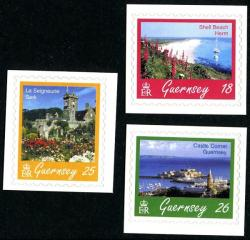1997 Guernsey Scenes self adhesive