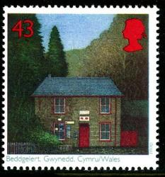 1997 Post Offices 43p