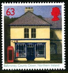 1997 Post Offices 63p