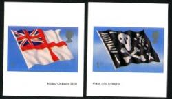 2001 Flags self adhesive