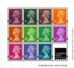 2010 London Festival of Stamps MS