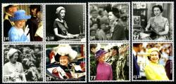 2012 Diamond Jubilee litho printing booklet stamps  (SGB3319-B3326)