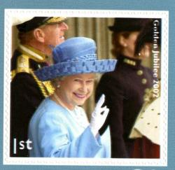 2012 Diamond Jubilee self adhesive  (SG3327)