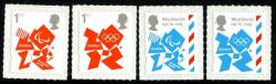 2012 Olympic & Paralympic self adhesive