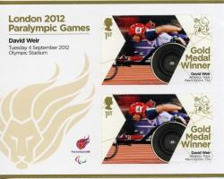 2012 Paralympic Games David Weir 1500m Track MS