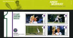 2013 Andy Murray Wimbledon Champion pack