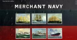 2013 Merchant Navy including miniature sheet pack