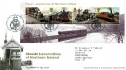 2013 Northern Ireland Locomotives MS cover