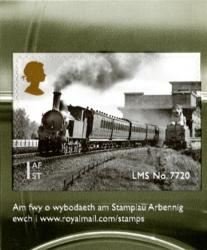 2014 Classic Locomotives of Wales self adhesive  (SG3634)