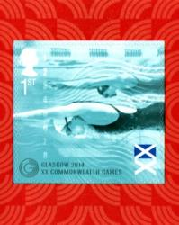 2014 Commonwealth Games self adhesive (SG3625)
