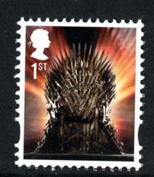 2018 Game of Thrones Iron Throne gummed (SG4044)
