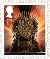 2018 Game of Thrones Iron Throne self adhesive (SG4049)