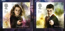 2018 Harry Potter self adhesive (SG4152-4153)