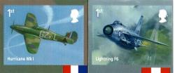 2018 RAF Centenary self adhesive (SG4065-4066)