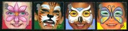 2001 Child Face Painting