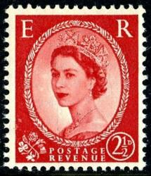 SG 519 2½d red type 1