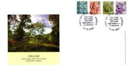 England 2003 14th October 2nd,1st,E,68p royal mail cover