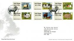 FS27 2012 Farm Animals  1st Series Sheep Post & Go
