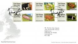 FS33 2012 Farm Animals  2nd Series Pigs Post & Go