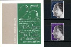 1972 Silver Wedding pack
