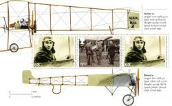 SG3217a Aerial Post  Farman & Bleriot