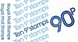 SG:FG1a 90p 10x9p Stamps LM