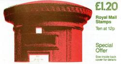 SG:FJ4a £1.20p Pillar Box LM