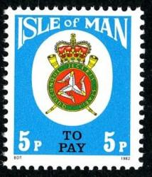 SG: D19  1982 5p greenish blue
