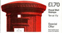SG: FT5aa £1.70p  Pillar Box revised rate 2nd Class 12p  LM