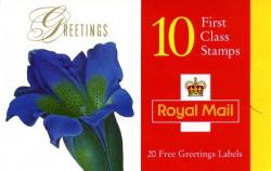 SG: KX9 Greetings 1997 Flowers