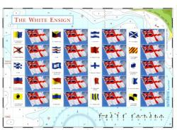 SG: LS25  The White Ensign